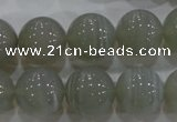 CAG5325 15.5 inches 16mm round grey line agate beads wholesale