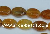 CAG5623 15 inches 13*16mm oval dragon veins agate beads wholesale