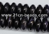CAG5646 15 inches 9*18mm rondelle agate gemstone beads wholesale