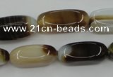 CAG5922 15 inches 13*25mm nuggets Madagascar agate gemstone beads