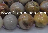 CAG6678 15.5 inches 20mm round natural crazy lace agate beads