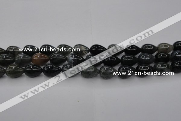 CAG6825 15.5 inches 12*16mm teardrop Indian agate beads wholesale