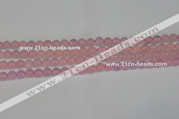 CAG7151 15.5 inches 8mm round pink agate gemstone beads