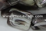 CAG741 15.5 inches 18*24mm rectangle botswana agate beads wholesale