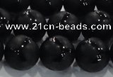 CAG8738 15.5 inches 16mm round matte tibetan agate gemstone beads