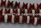 CAG9140 15.5 inches 6mm round tibetan agate beads wholesale