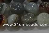 CAG9152 15.5 inches 14mm round line agate beads wholesale
