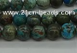 CAG9600 15.5 inches 6mm round ocean agate gemstone beads wholesale