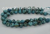 CAG9612 15.5 inches 14*16mm - 15*18mm faceted nuggets ocean agate beads
