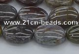 CAG9741 15.5 inches 12*16mm oval Indian agate beads wholesale