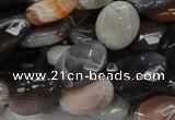CAG987 15.5 inches 20*30mm faceted oval botswana agate beads