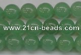 CAJ603 15.5 inches 10mm round A grade green aventurine beads