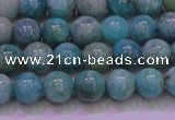 CAM1251 15.5 inches 6mm round natural Russian amazonite beads