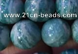 CAM1653 15.5 inches 10mm round Russian amazonite gemstone beads