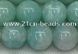 CAM1688 15.5 inches 10mm round natural amazonite beads wholesale