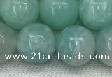 CAM1689 15.5 inches 12mm round natural amazonite beads wholesale