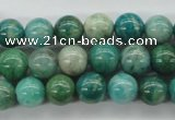 CAM523 15.5 inches 9mm round mexican amazonite gemstone beads