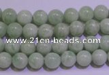 CAM752 15.5 inches 8mm round natural amazonite gemstone beads