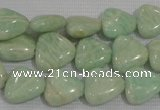CAM856 15.5 inches 12*12mm triangle natural Russian amazonite beads