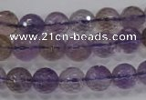 CAN10 15.5 inches 10mm faceted round natural ametrine gemstone beads
