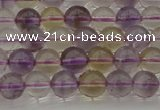CAN166 15.5 inches 6mm round natural ametrine beads wholesale