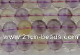 CAN167 15.5 inches 8mm round natural ametrine beads wholesale