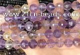 CAN255 15.5 inches 12mm pumpkin ametrine gemstone beads