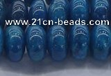 CAP373 15.5 inches 8*14mm rondelle apatite gemstone beads