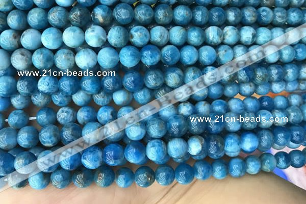 CAP589 15.5 inches 8mm round apatite gemstone beads