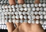 CAQ853 15.5 inches 6mm faceted nuggets aquamarine beads wholesale