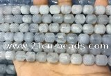 CAQ916 15.5 inches 8*10mm tube aquamarine gemstone beads