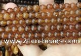 CAR238 15.5 inches 6mm - 7mm round natural amber beads wholesale