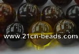 CAR509 15.5 inches 15mm - 16mm round natural amber beads wholesale