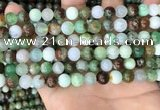 CAU436 15.5 inches 8mm round Australia chrysoprase beads wholesale