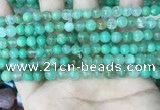 CAU440 15.5 inches 6.5mm - 7mm round Australia chrysoprase beads