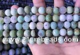 CAU467 15.5 inches 9mm round Australia chrysoprase beads