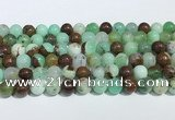 CAU484 15.5 inches 8mm round Australia chrysoprase beads