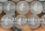 CBC732 15.5 inches 8mm round blue chalcedony beads wholesale