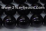 CBQ505 15.5 inches 14mm round natural black quartz beads