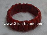 CCB102 7.5 inches coral hand crafted bracelet jewelry wholesale
