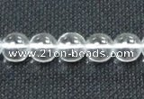CCC259 15.5 inches 10mm round grade A natural white crystal beads