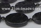 CCG129 15.5 inches 15*20mm oval charoite gemstone beads