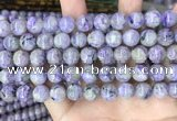 CCG321 15.5 inches 10mm round natural charoite beads wholesale