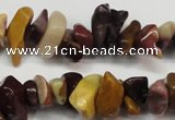 CCH219 34 inches 5*8mm mookaite chips gemstone beads wholesale