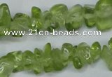 CCH252 34 inches 5*8mm synthetic crystal chips beads wholesale