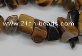 CCH278 34 inches 8*12mm tiger eye chips gemstone beads wholesale