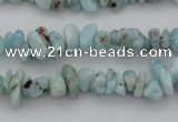 CCH661 15.5 inches 4*6mm - 5*8mm larimar gemstone chips beads