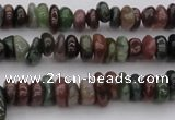 CCH664 15.5 inches 4*6mm - 5*8mm Indian agate chips beads