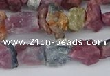 CCH707 15.5 inches 6*8mm - 10*14mm watermelon tourmaline chips beads