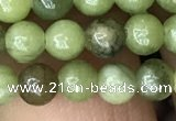 CCJ310 15.5 inches 4mm round China jade beads wholesale